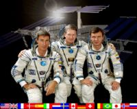 International Space Station Expedition 1 Official Crew Photograph